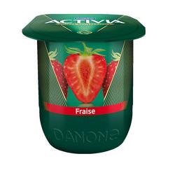yaourt Activia à la fraise