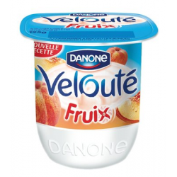 "Yaourt velouté fruix à la pêche ""Danone"""