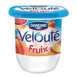 """Yaourt velouté fruix à l'abricot """"Danone"""""""