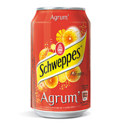 Shweppes Agrum' 33cl
