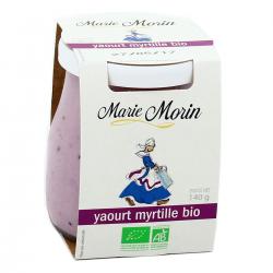 """Yaourt brassé bio à la myrtille """"Marie Morin"""""""