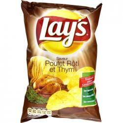 """Paquet de chips à l'ancienne """"Lay's"""" 45g"""
