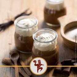 """Liégeois au chocolat au lait """"Marie Morin"""""""